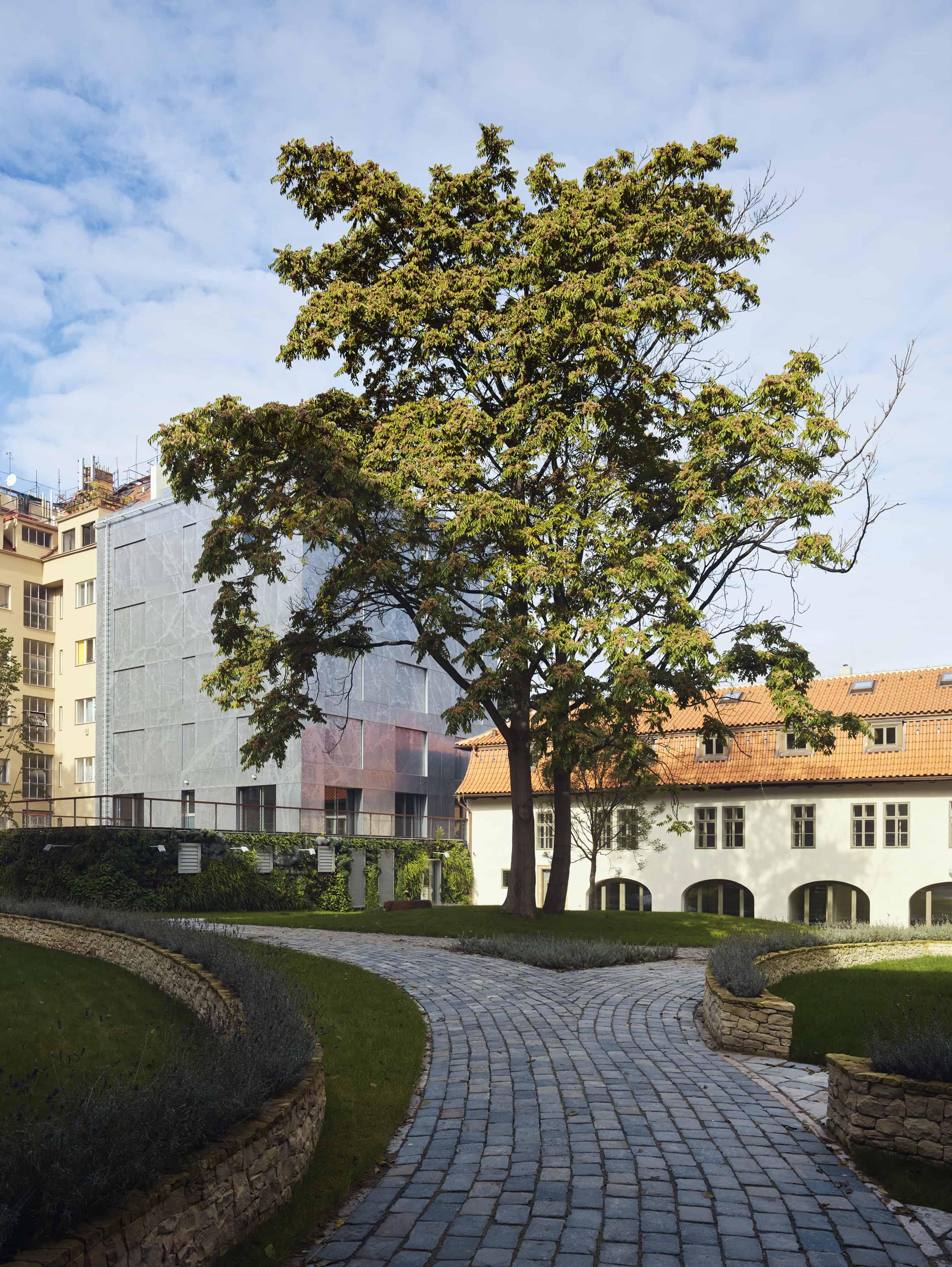 Designperforatie Old Town Court