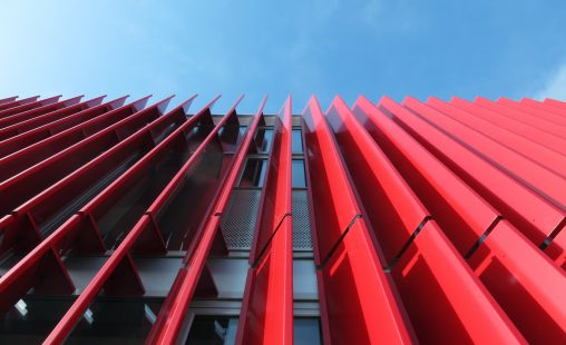 MD Lamel slats facade cladding