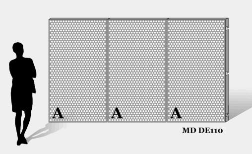 MD Designperforation pattern MD DE110