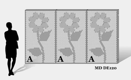 MD Designperforation pattern MD DE120
