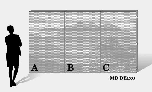 MD Designperforation pattern MD DE130