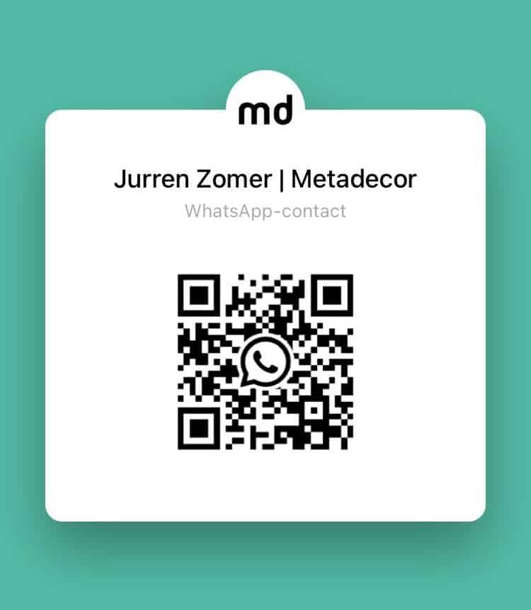 Sales contact person Jurren Zomer Whatsapp